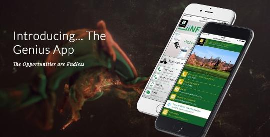 iinfou Team Genius App Fading Image 0