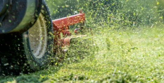 Leach's Lawnmowers Genius App Fading Image 2