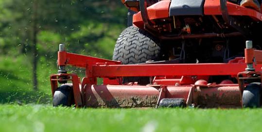Leach's Lawnmowers Genius App Fading Image 0